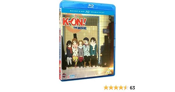 K-On! The Movie Blu-ray / DVD Double Play Reino Unido Blu-ray ...