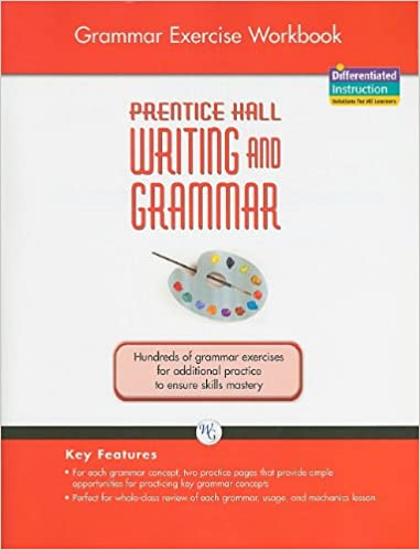 Amazon prentice hall writing and grammar grade 8 grammar prentice hall writing and grammar grade 8 grammar exercise workbook workbook edition fandeluxe Image collections