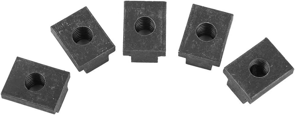 5-Pack of Iron T-Slot Nuts Suuonee T-Slot Nuts Ideal T Slot Nut for Toyota Tacoma Truck Bed Deck Rails