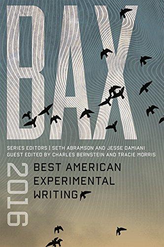 BAX 2016: Best American Experimental Writing pdf epub