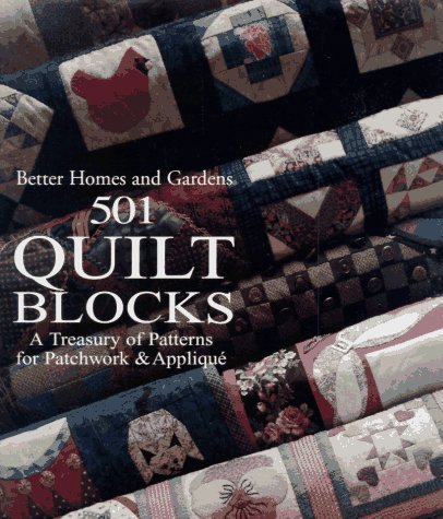 501 Quilt Blocks (Better Homes and Gardens 501 Quilt Blocks: A Treasury of Patterns (English Language) (1994-09-16) [Hardcover])