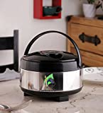 Parasnath Stainless Steel 3000ml Hot Meal Casserole with Lid (Lifetime Warranty*MADE IN INDIA)