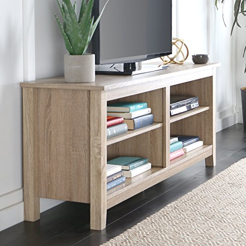 New 58'' Modern Tv Console Stand - Natural Finish by Home Accent Furnishings (Image #3)