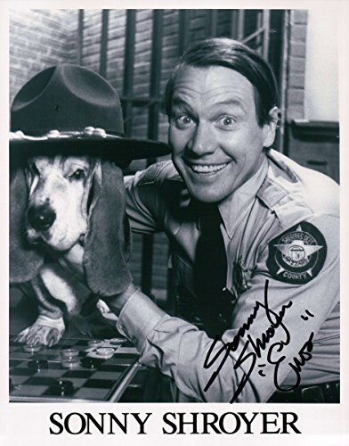 "Sonny Shroyer Signed Autographed 8X10 Photo The Dukes of Hazzard ""Enos"" w/COA"