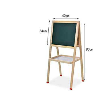 Amazon.com: Magnetic Drawing Board Double Sided Kids Easel Children ...