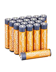 Amazon Basics AAA 1.5 Volt Performance Alkaline Batteries - Pack of 20