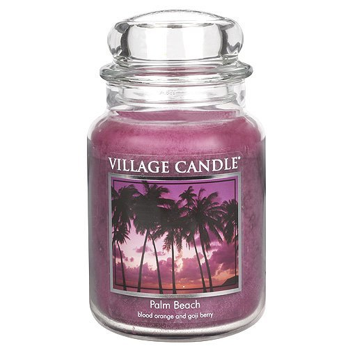 Village Candle 106326813 Candle Palm Beach Red by Village Ca