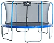 SKYTRIC Trampoline with Top Ring Enclosure