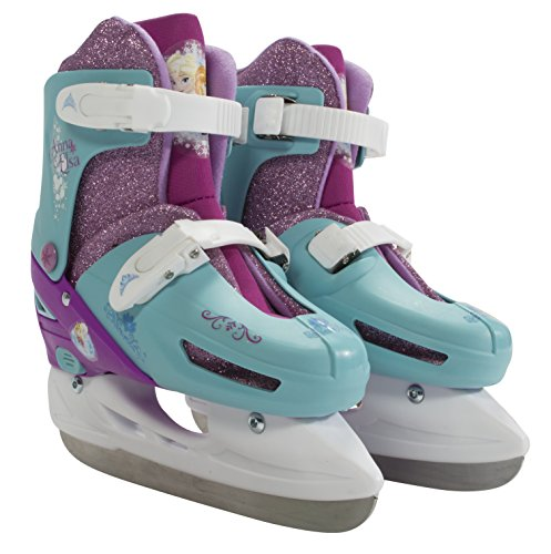 - PlayWheels Disney Frozen Kids Convertible Ice Skates - Junior Size 6-9