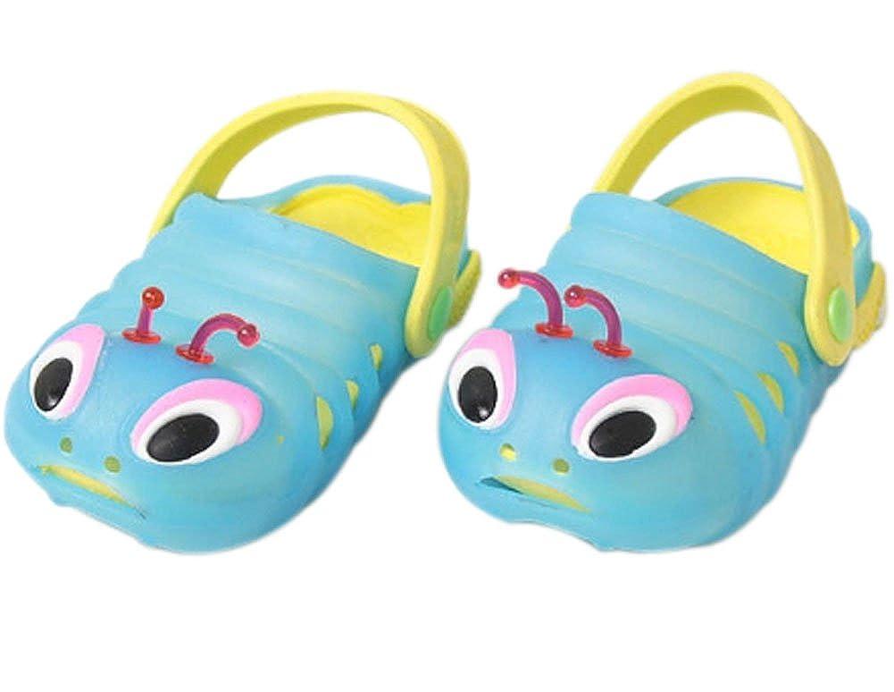 Kids Sandals in//Outdoor Toddler Clogs Shoes//Bule Caterpillar 17.3CM Length Blue