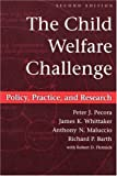 img - for The Child Welfare Challenge: Policy, Practice, and Research (Modern Applications of Social Work) by Richard P. Barth (2000-12-31) book / textbook / text book