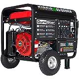 DuroStar DS10000EH Portable Generator, Red/Black
