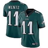NIKE Mens Philadelphia Eagles Home Green Jersey - #11 Carson Wentz