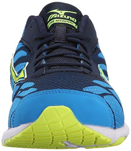 Mens 3 Safety Hitogami Yellow Mizuno Blue Running Shoe Dude Wave 1tw8Bq8d
