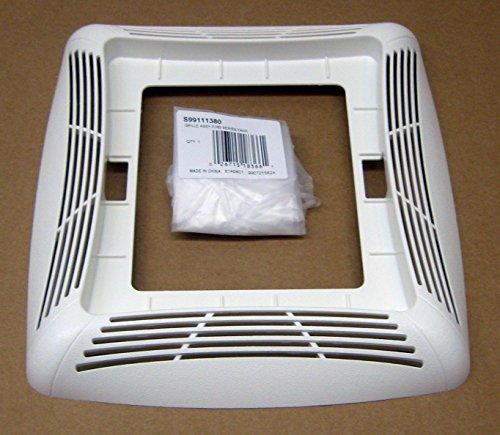 NuTone S99111380 Bath Ventilation Fan Grille