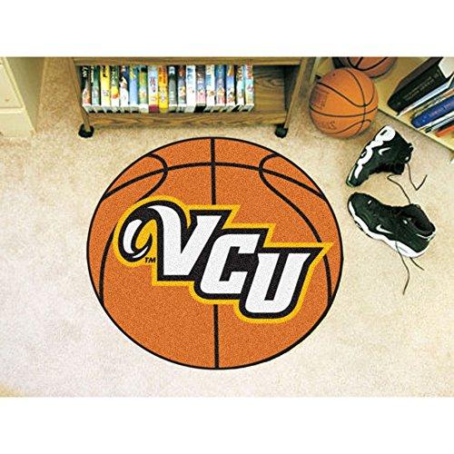 """Fan mats vcu basketball mat 26\"""" diameter"""
