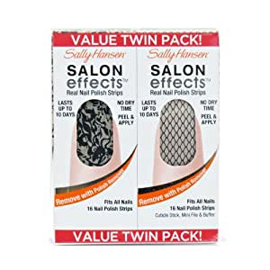Sally Hansen Salon Effects Value Twin Pack - Laced Up / Misbehaved