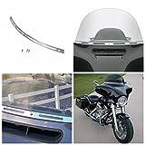 INNOGLOW Slotted Windshield Trim For Harley Electra Street Glide Touring Bike 1996-2013 FLHT/FLHTC/FLHTCU/FLHX