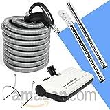30 Hose Kit with Beam Central Vacuum Electric Powerhead Sweep N Groom Rugmaster
