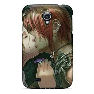 Hot Design Premium XmxzBZf4401YZDhE Tpu Case Cover Galaxy S4 Protection Case(kiss In The Rain By Wen M)