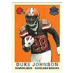 1f351b345ab7 2015 Topps 60th Anniversary Throwbacks  T60-DJO Duke Johnson Browns NFL  Football.