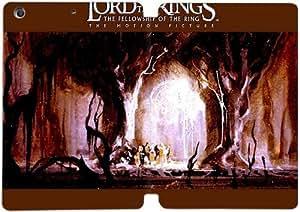 Cubierta de cuero y caja de la PC funda / soporte para funda de Apple iPad Mini 1,2,3 funda Con Magnetic reposo automático Función de despertador DIY por The Lord Of The Rings G3S7Ij5D1Lh