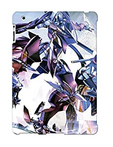 Ellent Ipad 2/3/4 Case Tpu Cover Back Skin Protector Xenosaga For Lovers' Gifts