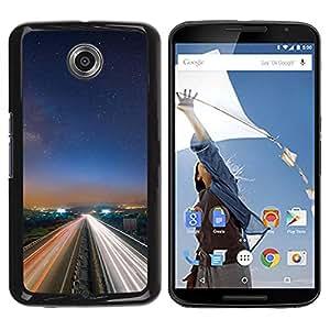 LECELL -- Funda protectora / Cubierta / Piel For Motorola NEXUS 6 / X / Moto X Pro -- Nature Beautiful Forrest Green 13 --