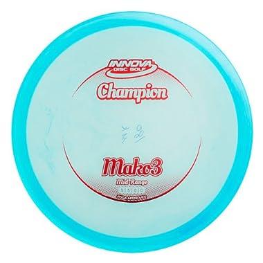 Innova Disc Golf Champion Material Mako 3 Golf Disc, 170-174gm (Colors may vary)
