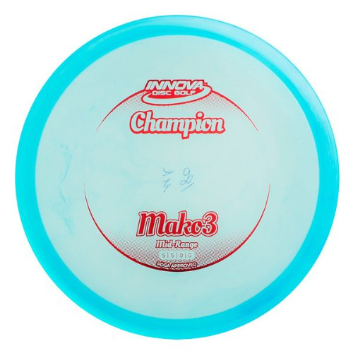 Innova Disc Golf Champion Material Mako 3 Golf Disc, 178-180gm (Colors may vary) by Innova Disc Golf