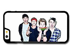 AMAF ? Accessories 5 Seconds Of Summer Funny Faces Watermelon Boyband case for iPhone 6