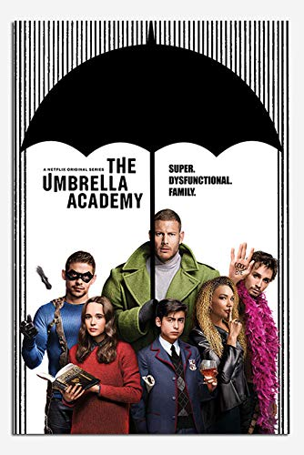 The Umbrella Academy Super Dysfunctional Family Poster Maxi - 91.5 x 61cms (36 x 24 -