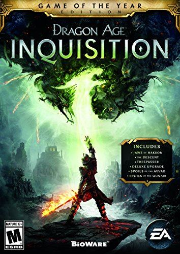 Dragon Age: Inquisition - Game of the Year Edition - PC [Digital Code] (Xbox 360 Art Of War Controller)