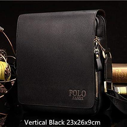 1f53e0499ddf Amazon.com: Leather Men Messenger Bags Promotional Crossbody ...