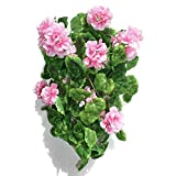 "16"" Geranium Ivy, Artificial Hanging Plant (WITHOUT POT)"