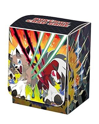 Pokemon Sun and Moon Lycanroc Anime Card Game Deck Box Case Holder
