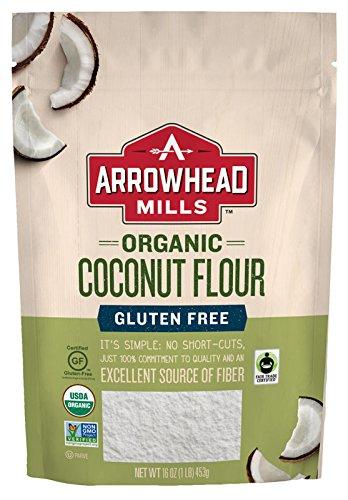 Arrowhead Mills Organic Fair Trade Coconut Flour, 16 Ounce