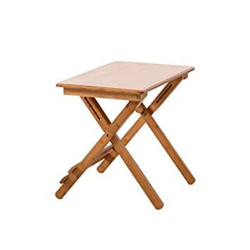 XUERUI Plegable Mesa Ajustable Plegable Bambú Ordenador Portátil Piso Habitación Escritura (Tamaño : T5): Amazon.es: Electrónica