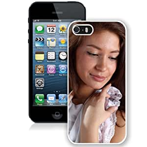 Unique Designed Cover Case For iPhone 5s With Irina J Girl Mobile Wallpaper(7) Phone Case