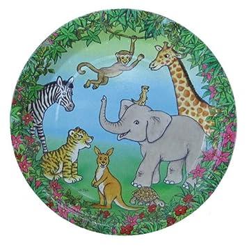 Döll Wilde Tiere & Dschungel - Platos para cumpleaños ...