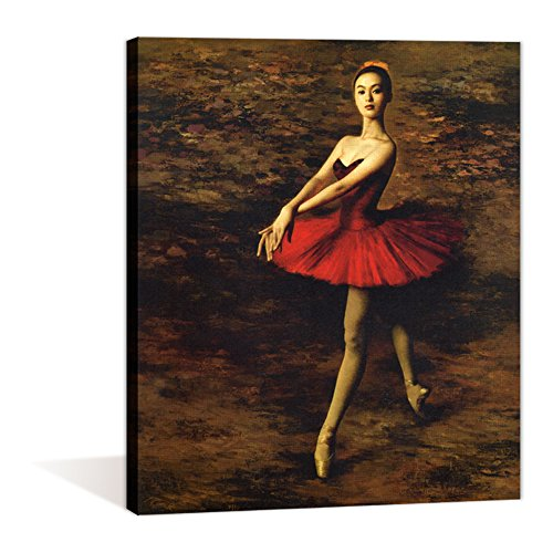 Ballet Dance Paint by numbers kit For Adults 16x20inch