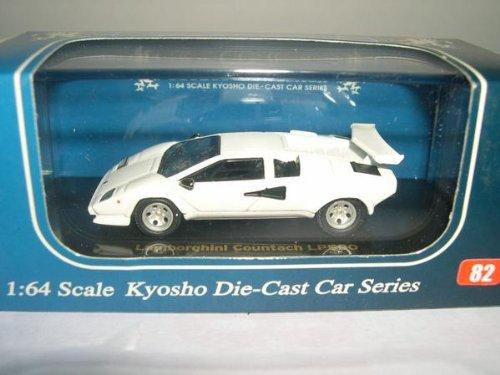 1/64 ランボルギーニ カウンタック LP500(ホワイト) 「Beads Collection 京商ダイキャストカーシリーズ No.82」 06411W