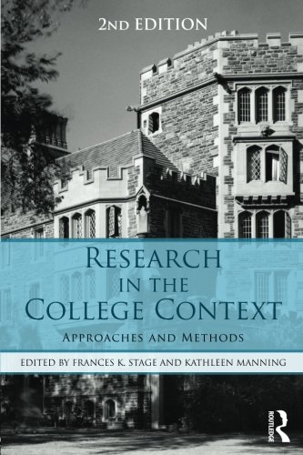 Research in the College Context: Approaches and Methods