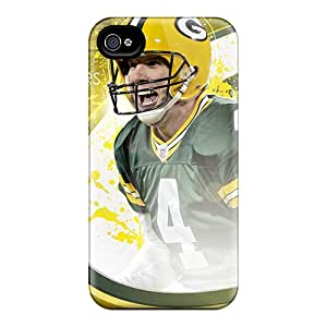 Hot Qyn4383HSSw Green Bay Packers Tpu Case Cover Compatible With Iphone 4/4s