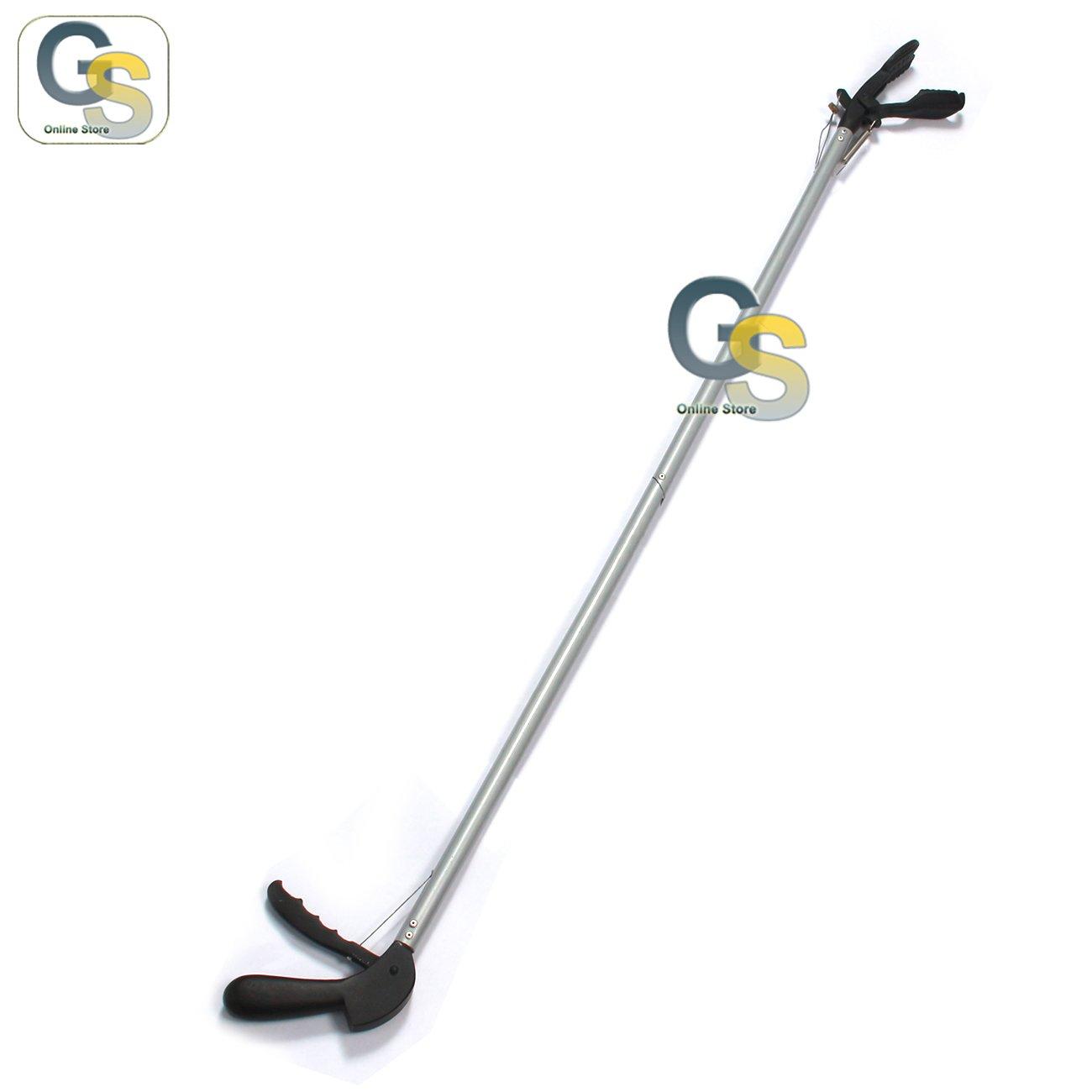 G.S 40'' SNAKE CATCHER STICK GRAY COLOR - RATTLE SNAKE CATCHER & GRABBER BEST QUALITY by G.S Veterinary