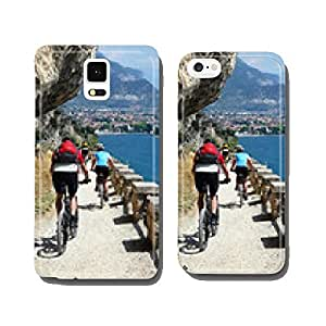 Mountain biker on Lake Garda cell phone cover case iPhone6