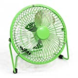 ValRetail Powerful Mini Gaming USB Table Fan | Small Personal Desktop Office Fans with Long USB Charging Cables Quietly