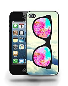 Hipster Infinity of Love Colorful Glasses Phone Case Cover Designs for iPhone 4