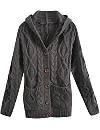 Amazon.com: Plus Size - Wool & Pea Coats / Coats, Jackets & Vests ...