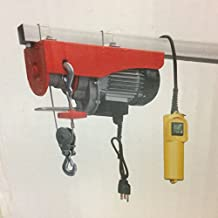 Electric winch 120 volts 440/880lbs